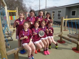 Football Success for the Girls