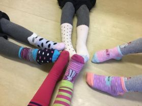 Odd Sock Day for Anti-Bullying Week!